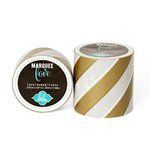 Heidi Swapp - Marquee Love Collection - Washi Tape - Gold Foil Stripe - 2 Inches Wide