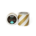 Heidi Swapp - Marquee Love Collection - Washi Tape - Gold Foil Stripe - 0.875 Inches Wide