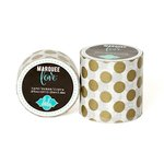 Heidi Swapp - Marquee Love Collection - Washi Tape - Gold Foil Polka Dot - 2 Inches Wide