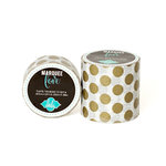 Heidi Swapp - Marquee Love Collection - Washi Tape - Gold Foil Polka Dot - 0.875 Inches Wide