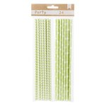 American Crafts - DIY Party - Party Straws - Green