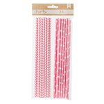 American Crafts - DIY Party - Party Straws - Pink