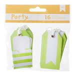 American Crafts - DIY Party - Pocket Tags - Green