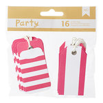 American Crafts - DIY Party - Pocket Tags - Pink