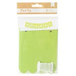 American Crafts - DIY Party - Banner Kit - Green