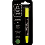 American Crafts - Wet-Erasable Chalk Marker Crayon - Yellow