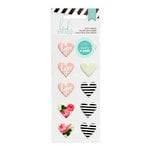 Heidi Swapp - Hello Beautiful Collection - Memory Planner - Puffy Stickers - Hearts, COMING SOON