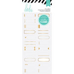 Heidi Swapp - Hello Beautiful Collection - Memory Planner - Stickers - Gold Foil Labels, COMING SOON