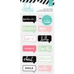 Heidi Swapp - Hello Beautiful Collection - Memory Planner - Puffy Stickers - Chat Bubbles, COMING SOON