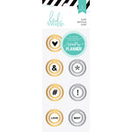 Heidi Swapp - Hello Beautiful Collection - Memory Planner - Metal Circle Clips, COMING SOON