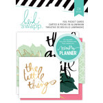 Heidi Swapp - Hello Beautiful Collection - Memory Planner - Pocket Cards - Foil