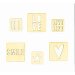 Heidi Swapp - Hello Beautiful Collection - Memory Planner - Pocket Cards - Wood, COMING SOON