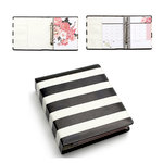 Heidi Swapp - Hello Beautiful Collection - Memory Planner - Black and White Binder