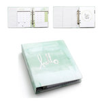 Heidi Swapp - Hello Beautiful Collection - Memory Planner - Hello Watercolor Binder