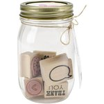 American Crafts - DIY Shop Collection - Mason Jars - Everyday Stamps