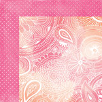 American Crafts - Amy Tangerine Collection - Rise and Shine - 12 x 12 Double Sided Paper - Stella