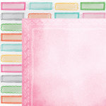 American Crafts - Amy Tangerine Collection - Rise and Shine - 12 x 12 Double Sided Paper - Riley