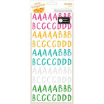 American Crafts - Amy Tangerine Collection - Rise and Shine - Remarks - Alphabet Book - Transparent