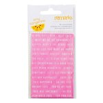 American Crafts - Amy Tangerine Collection - Rise and Shine - Cardstock Stickers - Phrases