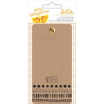 American Crafts - Amy Tangerine Collection - Rise and Shine - Memo Pad - Ticket