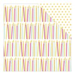 American Crafts - Dear Lizzy Collection - Fine and Dandy - 12 x 12 Double Sided Paper - Make a Wish