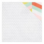 American Crafts - Dear Lizzy Collection - Fine and Dandy - 12 x 12 Double Sided Paper - Lets Party