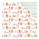 American Crafts - Dear Lizzy Collection - Fine and Dandy - 12 x 12 Double Sided Paper - Charming Charade