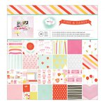 American Crafts - Dear Lizzy Collection - Fine and Dandy - 12 x 12 Paper Pad