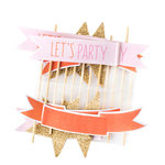 American Crafts - Dear Lizzy Collection - Fine and Dandy - Toothpicks