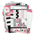 Heidi Swapp - Hello Beautiful Collection - Memory Planner - 6 x 8 Paper Pad - One