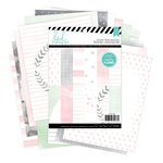Heidi Swapp - Hello Beautiful Collection - Memory Planner - 6 x 8 Paper Pad - Two