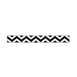 American Crafts - Glitter Ribbon - Black Chevron - 0.325 Inch - 3 Yards