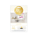 Heidi Swapp - MINC Collection - Die Cut Cardstock Pieces - Words