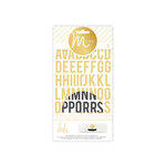 Heidi Swapp - MINC Collection - Cardstock Stickers - Alphabet - Stripe