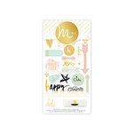 Heidi Swapp - MINC Collection - Cardstock Stickers - Icons