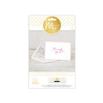 Heidi Swapp - MINC Collection - Cards and Tags - Card Set - Thank You
