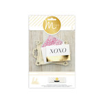 Heidi Swapp - MINC Collection - Cards and Tags - Card Set - XOXO