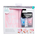 Heidi Swapp - Mixed Media Collection - Art Screen Kits - You Are Here