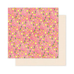 Pink Paislee - Citrus Bliss Collection - 12 x 12 Double Sided Paper - Fresh