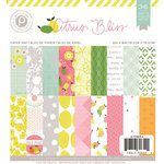 Pink Paislee - Citrus Bliss Collection - 6 x 6 Paper Pad