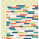 American Crafts - Shimelle Collection - True Stories - 12 x 12 Double Sided Paper - Espresso