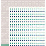 American Crafts - Shimelle Collection - True Stories - 12 x 12 Double Sided Paper - Macchiato
