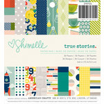 American Crafts - Shimelle Collection - True Stories - 6 x 6 Paper Pad