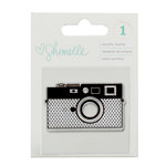 American Crafts - Shimelle Collection - True Stories - Clear Acrylic Stamps - Camera