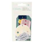 American Crafts - Shimelle Collection - True Stories - Tags With Vellum