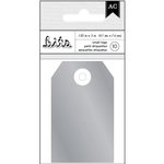 American Crafts - Tags - Silver Foil