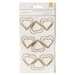 American Crafts - Paper Clips - Jumbo - Hearts