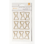 American Crafts - Paper Clips - Jumbo - Bowties