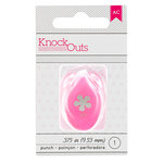 American Crafts - Knock Outs - Mini Punch - Flower - .375 Inch