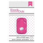 American Crafts - Knock Outs - Mini Punch - Word Bubble - .375 Inch